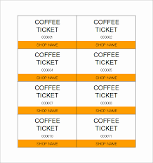 Blank Concert Ticket Template Luxury Ticket Templates 99 Free Word