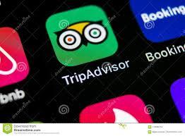 tripadvisor app logo. Unique Tripadvisor SanktPetersburg Russia May 10 Tripadvisor Application Icon On Apple  IPhone X Screen Closeup Tripadvisorcom App Icon Social Media Network Inside App Logo E