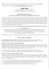 Business Resume Objective Sample Office Manager Resume Front Desk