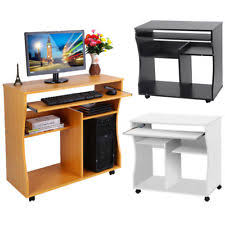 Exceptional Small Computer Desk Home Office Laptop Table Workstation With Storage  Shelves UK