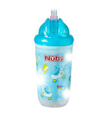 Nuby Insulated Light Up Cup Stand Out In The Crowd With My Fun Flashing Boogie Lights