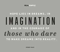 Dream Reality Quotes Best of Easy Healthy Dinners Ideas Pinterest Imagination Jonas Salk