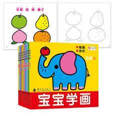 2 year old children coloring book 3 year old painting coloring book