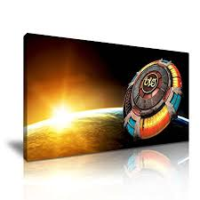 electric light orchestra rock music canvas wall art picture print 82cm x 41cm on rock wall art uk with electric light orchestra rock music canvas wall art picture print