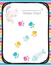 Kitty Cat Themed Sticker Chart