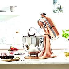 satin copper kitchen aid mixer copper mixer stand mixer limited edition satin copper