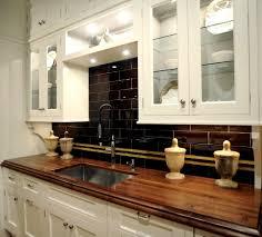 White Cabinets Backsplash Dark Backsplash With White Cabinets Home Design Ideas