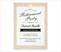 Retirement Party Invitation Template Free Psd Format Retirem On