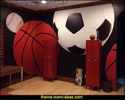 Sports Themed Bedroom Decor Sports Bedroom Decorating Ideas 1000 Ideas About Sports Themed