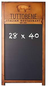 Restaurant Chalkboards Amazon Com Custom Restaurant Chalkboards Office Products