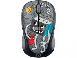 <b>Мышь Logitech M238</b> Doodle Collection Lightbulb 910-005049