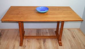 reynolds of ludlow cotswold style oak table midcentury retro and vintage dining tables