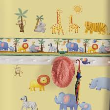jungle wall border jungle wall sticker borders