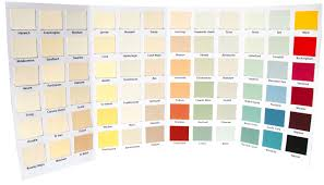 natural paint colorsNutshell Natural Paints  2014 Colour Charts  Natural Nonetoxic