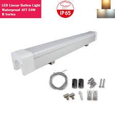 Dust Proof Led Lights Weatherproof Led Linear Batten Light Led Lights Com