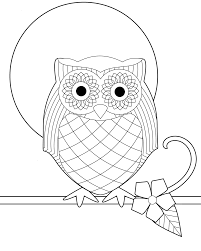 Small Picture Animations A 2 Z Coloring pages of owls