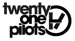 twenty one pilots logo black and white - Google Search | Twenty ...