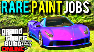 Test Paint Color Online Gta 5 Crew Colors Rare Modded Crew Colour Gta Online