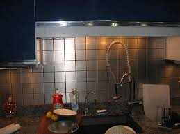 Stainless Steel Backsplash Kitchen Metal Tile Kitchen Backsplash Styles Latest Kitchen Ideas