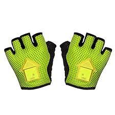 SODIAL Autoinduction <b>Steering</b> Gloves LED Turn <b>Signal</b> Bike <b>Lights</b> ...