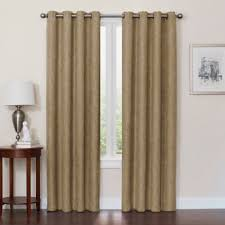 brown blackout curtains. Quinn 54-Inch Grommet Top 100% Blackout Window Curtain Panel In Mocha Brown Curtains T