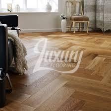 150mm brushed and uv lacquered herringbone engineered oak wood flooring 14 3mm thick