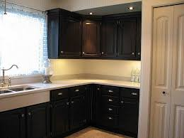black painted kitchen cabinets ideas. Perfect Black Kitchen Paint Colors With Dark Cabinets Design Throughout Black Painted Ideas A