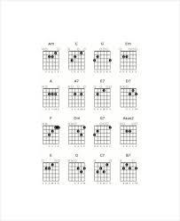 Blank Chord Chart Pdf Chart And Template Corner