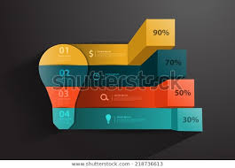 Modern Charts And Graphs Modern Business Steps Success Charts Graphs Royalty Free