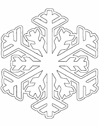 Snowflake Color Page Coloring Page Snowflake Snow Coloring Pages