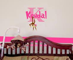 girl monkey in a swing wall decal