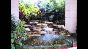 Creative Small Garden Waterfall Design Ideas Youtube