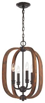 wood arches 4 light chandelier in oil rubbed bronze transitional chandeliers