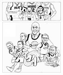 Small Picture Jordan Coloring Pages Simply Simple Michael For itgodme