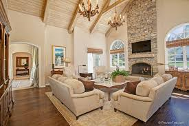 great vaulted ceiling fireplace ideas le