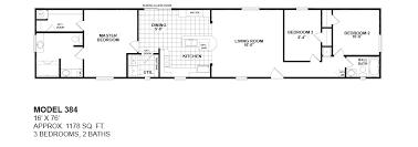 model 384 16x76 3bedroom 2bath oak creek mobile