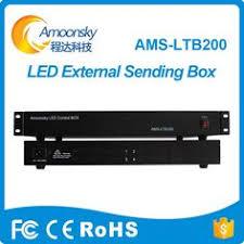 led advertising screen external sending card box for Novastar ...