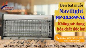 Khắc tinh của muỗi & côn trùng - Đèn bắt muỗi Navilight NP 2X20W AL | Siêu  thị Hải Minh - YouTube