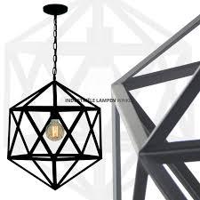 Draadlamp Cube Zwart Xxl ø 55 Cm 5672z