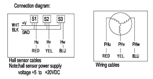 nema 34 bldc motor wiring diagram