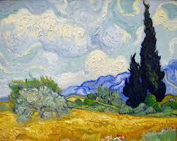 Vincent van Gogh - The Cypress Tree and Flowers, 1889 at Kunsthaus Zürich - Zurich Switzerland   Van gogh art, Van gogh paintings, Vincent van gogh paintings