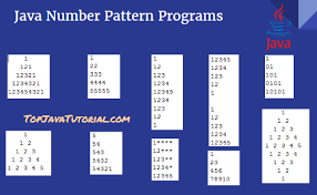 Pattern Java Amazing 48 Java Pattern Programs For Printing Number Character Patterns