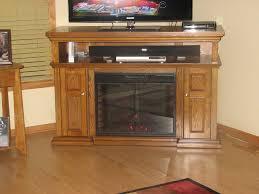 corner electric fireplace entertainment center design
