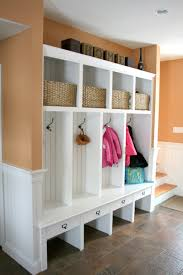 Mudroom Bench With Coat Rack Bench Bench Free Mudroom Storage Plans Lockers With Diy And Coat 23