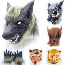 Fetish clothing masks tiger