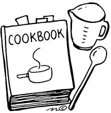 recipe cookbook clipart 1