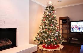 Silver And Red Christmas Tree Decorating Ideas - Home Design Ideas -  Fxmoz.com