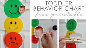 Toddler Behavior Chart B Superb