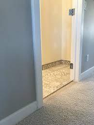 One Room Challenge Week 4 Baseboards In A Bathroom
