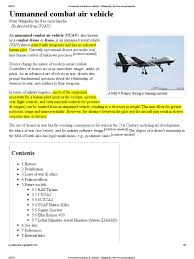 Unmanned Combat Air Vehicle Wikipedia The Free Encyclopedia
